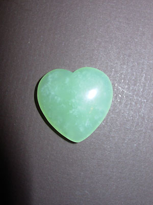 Chinese New Jade Gemstone Hearts