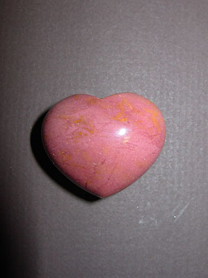 Mookaite Gemstone Puff Heart
