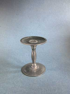 Pedestal Mineral Stand - Lead Free Pewter