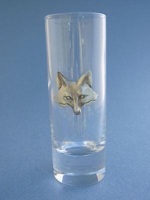 Fox Head Shooter - Lead Free Pewter