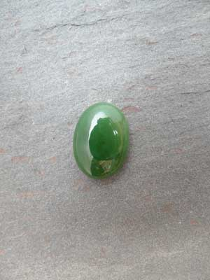 13x18mm Jade (AB) Oval Cabochon