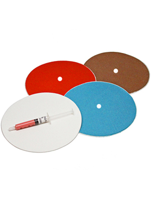 "8"" Diamond Smoothing Disc Kit - With Backing Plates"