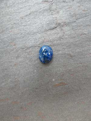 8x10mm Lapis Oval Cabochon