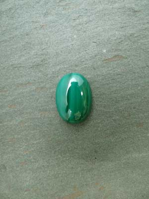 13x18mm Malachite Oval Cabochon