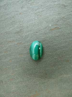 10x14mm Malachite Oval Cabochon