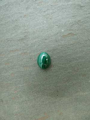 8x10mm Malachite Oval Cabochon