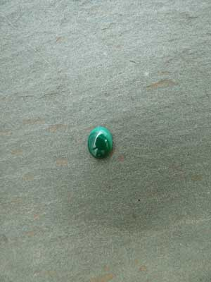 6x8mm Malachite Oval Cabochon