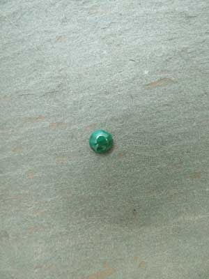 6mm Malachite Round Cabochon