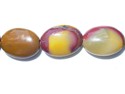 "10x14mm Oval Mookaite - 16"" Strand"