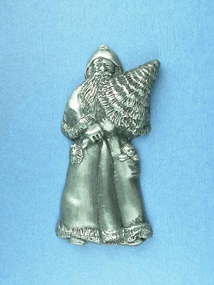 St. Nickolas Brooch - Lead Free Pewter