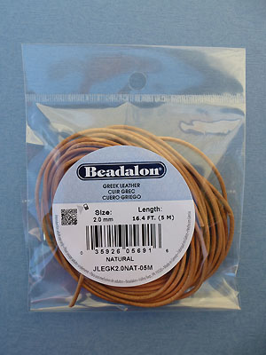 2.0mm Natural Greek Leather 5M
