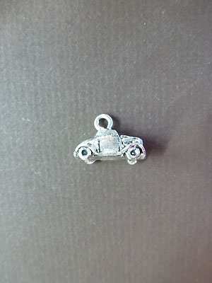 Old Car Mini-Charm - Lead Free Pewter