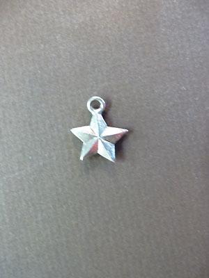 Star Mini-Charm - Lead Free Pewter