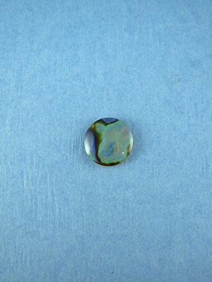 10mm Paua Shell Round Cabochon