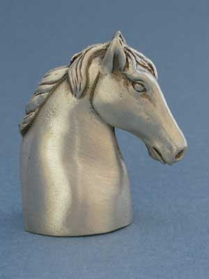 Horse Head Candle Snuffer - Lead Free Pewter