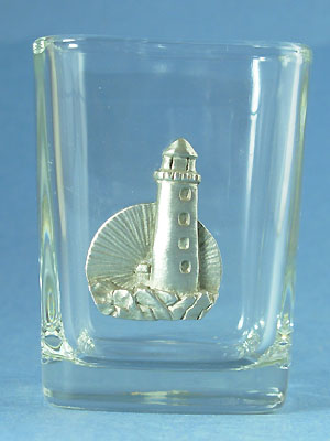 Lighthouse Shot Glass - Lead Free Pewter