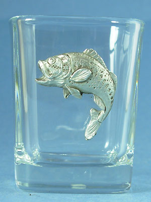 Bass Shot Glass Lead Free Pewter
