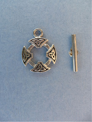 Celtic Toggle - Lead Free Pewter