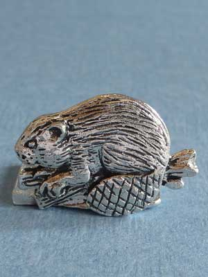 Lead Free Pewter Beaver Connector