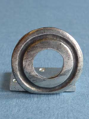 Lead Free Pewter Circle Connector