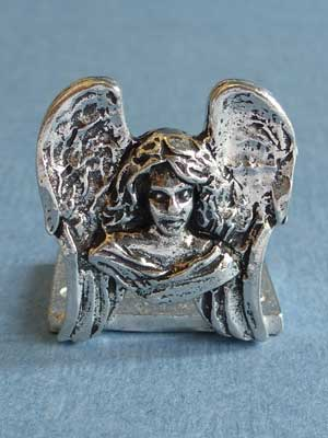 Lead Free Pewter Angel Connector