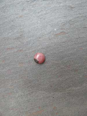 7mm Rhodonite Round Cabochon