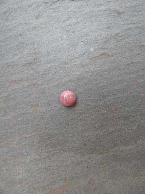 6mm Rhodonite Round Cabochon