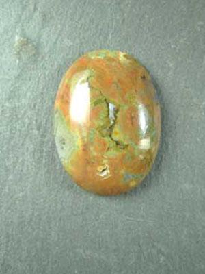 22x30mm Rhyolite Oval Cabochon