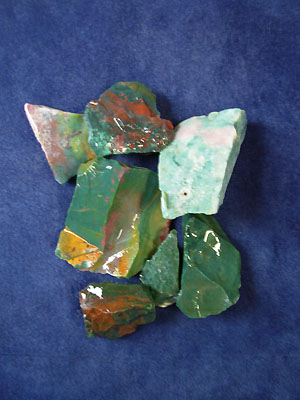 Assorted Rough Agates & Jaspers - India - Price per lb