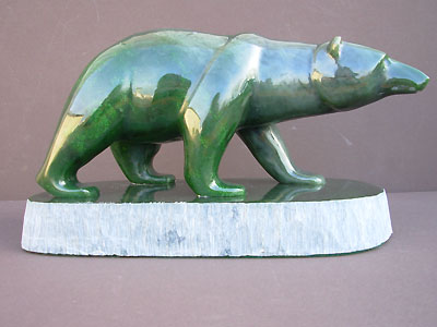 Jade Polar Bear