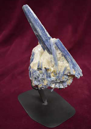 Kyanite Blade with Calcite