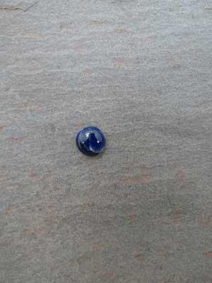 8mm Sodalite Round Cabochon