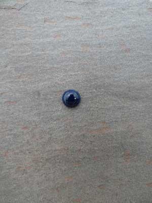 7mm Sodalite Round Cabochon