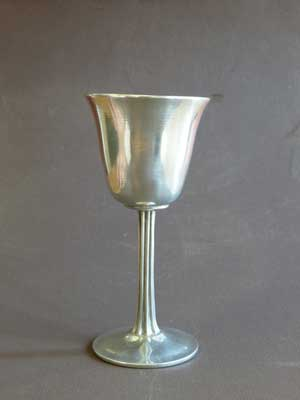 4 oz Wine Taster Satin Finish Lead Free Pewter Goblet