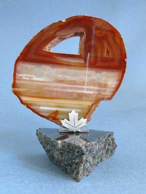 Granite & Agate Paperweight