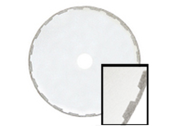 "Super Slicer Electroplated Rim Diamond Blade - 8"" x .025 x .031 x 5/8 x 1/2"