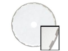 "Super Slicer Electroplated Rim Diamond Blade - 4"" x .004 x .007 x 5/8 x 1/2"