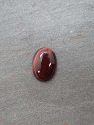 13x18mm Red Tiger Eye Oval Cabochon