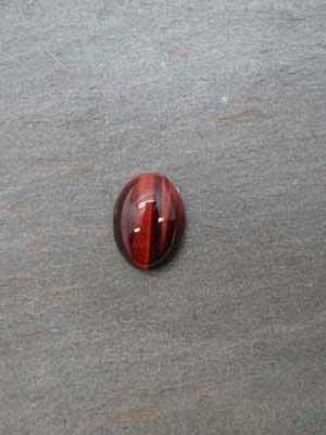 12x16mm Red Tigereye Oval Cabochon