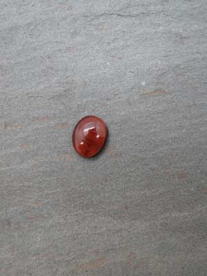 8x10mm Red Tiger Eye Oval Cabochon