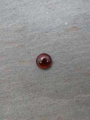 10mm Red Tiger Eye Round Cabochon