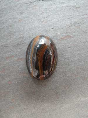 18x25mm Tiger Iron Oval Cabochon