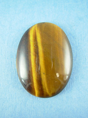 30x40mm Tiger Eye Oval Cabochon