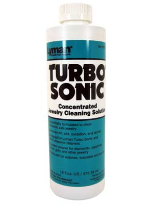 Turbo Sonic Jewelry Cleaning Solution - 16oz