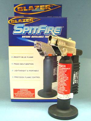 Blazer Spitfire - Butane Refillable Torch