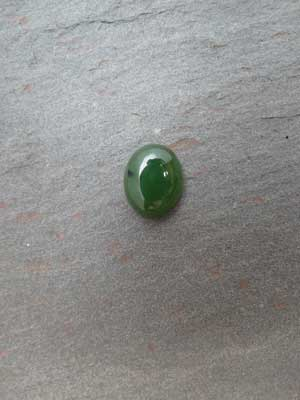 12x14mm Jade Oval Cabochon