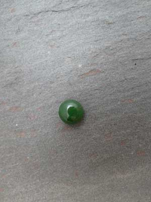 7mm Jade Round Cabochon