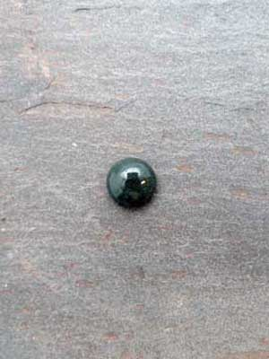 10mm Green Moss Agate Round Cabochon