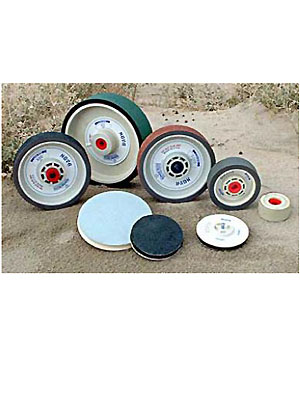 """4"""" Pre Polish-1200-4""""x1 1/2"""" Polishing Wheel"""