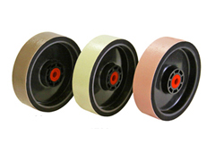 Standard Dark Green Diamond Resin Smoothing Wheel 6 x 1.5 x 60 Grit